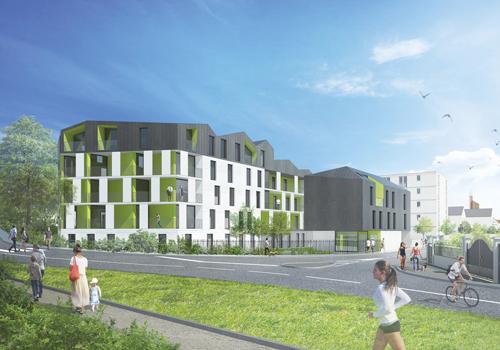 Atelier Les Particules Concours pour la réalisation de 25 logements - Garges les Gonesse