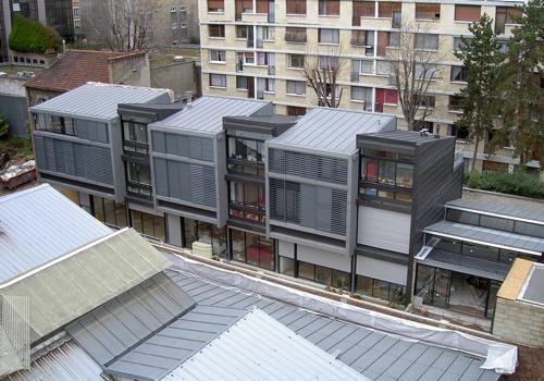 Atelier Les Particules - Construction de maisons de ville - Boulogne