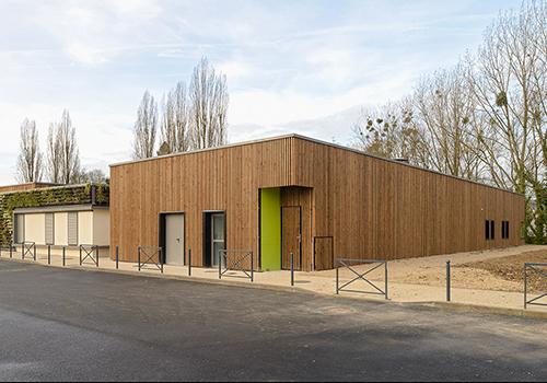 Atelier Les Particules - Réalisation d'une maison de l'enfance - Bouffemont