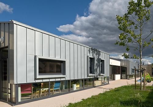 Atelier Les Particules - Création d'un centre multi-accueil- Coudray Montceaux