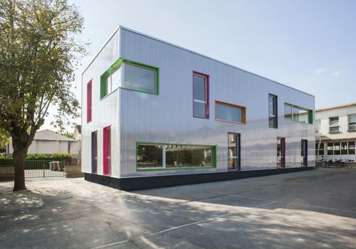Atelier Les Particules - Création d'un bâtiment périscolaire - Conflans Sainte Honorine
