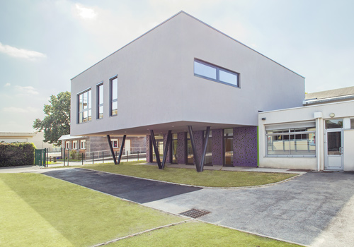Atelier Les Particules - Extension de l'école Basses Roches - Conflans Sainte Honorine