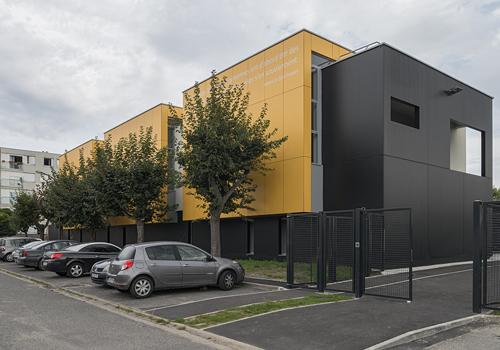 Atelier Les Particules - Réalisation de l'école Saint-Exupéry- Achères