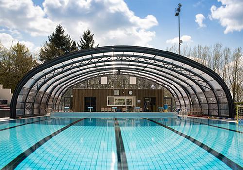 Atelier Les Particules Réhabilitation d'une piscine - La Châtaigneraie