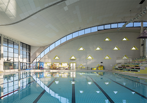 Atelier Les Particules Réhabilitation Centre nautique La Baleine - Saint-Denis